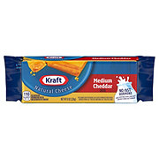 Kraft Natural Medium Cheddar Cheese