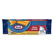Kraft Natural Sharp Cheddar Cheese