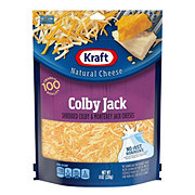 Kraft Natural Shredded Colby and Monterey Jack Cheeses