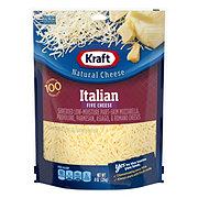Kraft Natural Shredded Italian Five Cheese
