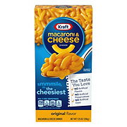 Kraft Original Flavor Macaroni and Cheese Dinner