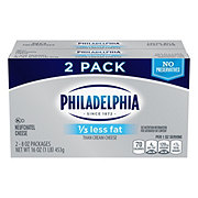 Kraft Philadelphia 1/3 Less Fat Cream Cheese