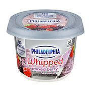 Kraft Philadelphia Whipped Mixed Berry Cream Cheese Spread