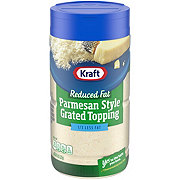 Kraft Reduced Fat Parmesan Style Grated Cheese Topping
