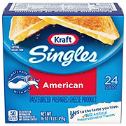 Kraft Singles American Pasteurized Prepared Cheese Product
