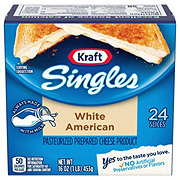 Kraft Singles White American Cheese Slices