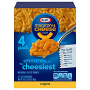 Kraft The Cheesiest Original Flavor Macaroni and Cheese Dinner