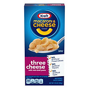 Kraft Three Cheese Macaroni and Cheese Dinner