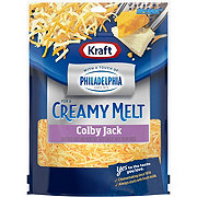 Kraft Touch Of Philly Colby Jack Cheese, Shredded