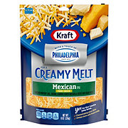 Kraft Touch of Philly Mexican Style Shredded Four Cheese