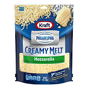 Kraft Touch of Philly Mozzarella Cheese, Shredded