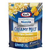 Kraft Touch of Philly Triple Cheddar Shredded Cheese