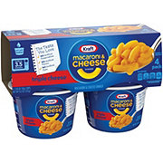 Kraft Triple Cheese Macaroni & Cheese Dinner