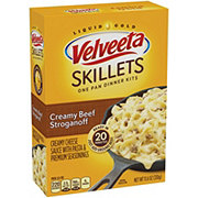 Kraft Velveeta Cheesy Skillets Creamy Beef Stroganoff Dinner Kit