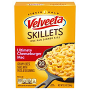 Kraft Velveeta Cheesy Skillets Ultimate Cheeseburger Mac Dinner Kit