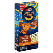 Kraft Whole Grain Original Macaroni and Cheese Dinner