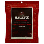 Krave Beef Garlic Chili Pepper Jerky