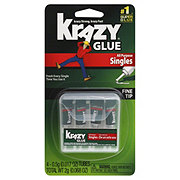 Krazy Glue Instant Single-Use Glue Tubes