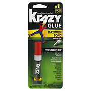 Krazy Glue Maximum Bond No Run Gel Precision Tip Super Glue