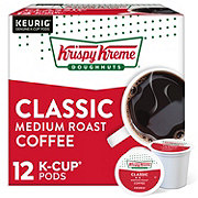 Krispy Kreme Smooth Light Roast Single Serve Coffee K Cups