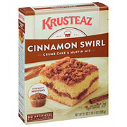 Krusteaz Cinnamon Swirl Crumb Cake and Muffin Mix