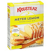 Krusteaz Meyer Lemon Pound Cake Mix