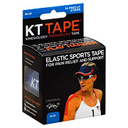 KT Tape Elastic Original Precut Blue Strips Sports Tape