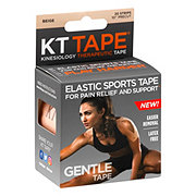 KT Tape Gentle Elastic Sports Tape Beige