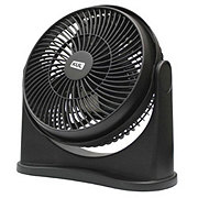 Kul 8 Inch Air Circulator Floor Fan in Black