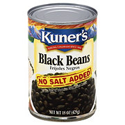 Kuner's Black Beans No Salt Added