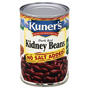Kuner's Dark Red Kidney Beans No Salt Added