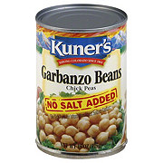 Kuner's Garbanzo Beans No Salt Added