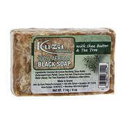 Kuza 100% African Black Soap With Shea Butter & Tea Tree