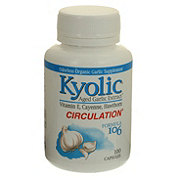 Kyolic Aged Garlic with Vitamin E Circulation Formula 106 Capsules