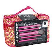 L.A. Colors Makeup Bag & Brush Set