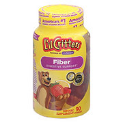 L'il Critters Assorted Flavors Fiber Gummy Bears