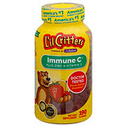L'il Critters Immune C Plus Zinc and Echinacea Gummy Bears