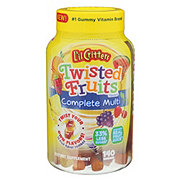 L'il Critters Twisted Fruits Complete Multi Gummies