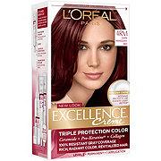 L'Oréal Paris Excellence Créme Permanent Hair Color, 4RM Dark Mahogany Red