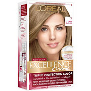 L'Oréal Paris Excellence Créme Permanent Hair Color, 7 Dark Blonde