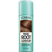 L'Oréal Paris Magic Root Cover Up Gray Concealer Spray, Light Brown