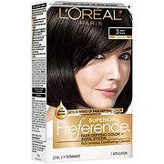 L'Oréal Paris Superior Preference Permanent Hair Color, 3 Soft Black