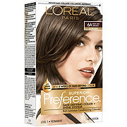 L'Oréal Paris Superior Preference Permanent Hair Color, 6A Light Ash Brown