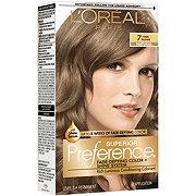 L'Oréal Paris Superior Preference Permanent Hair Color, 7 Dark Blonde