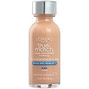 L'Oréal Paris True Match Super-Blendable Foundation, Creamy Natural