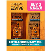 L'Oreal Paris Advanced Haircare Extraordinary Oil Shampoo + Conditioner