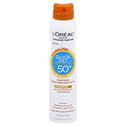 L'Oreal Paris Advanced Suncare Quick Dry Broad Spectrum Sheer Finish Sunscreen Spray SPF 50+