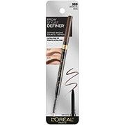 L'Oreal Paris Brow Stylist Definer Waterproof Eyebrow Pencil, Brunette