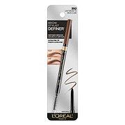 L'Oreal Paris Brow Stylist Definer Waterproof Eyebrow Pencil, Light Brunette