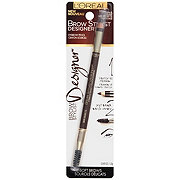 L'Oreal Paris Brow Stylist Designer Brow Pencil, Dark Brunette